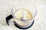 Шаг 2. С помощью блендера сделать пюре из банана.