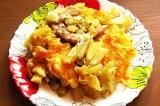Готовое блюдо: курица с картофелем по-французски
