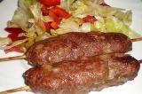 Готовое блюдо: люля-кебаб
