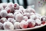 Готовое блюдо: клюква в сахаре