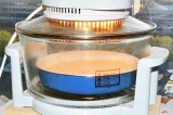 Шаг 4. Влить тесто в форму для выпекания. Готовить в аэрогриле.