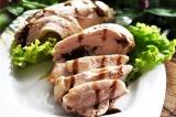 Готовое блюдо: куриное филе на гриле