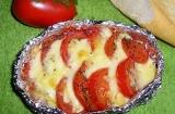 Готовое блюдо: помидоры гриль