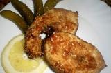 Готовое блюдо: маринованная рыбка в аэрогриле