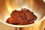 Шаг 5. Шоколад растопить на водяной бане.