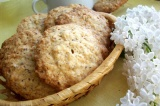 Готовое блюдо: банановое овсяное печенье
