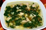 Готовое блюдо: суп из крапивы