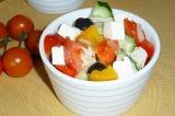Готовое блюдо: греческий салат
