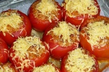 Шаг 9. Посыпать помидоры по истечению 30 минут.
