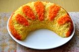 Готовое блюдо: салат апельсиновая долька