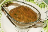 Готовое блюдо: соус из фейхоа