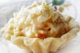 Готовое блюдо: тарталетки с сырной закуской