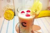 Готовое блюдо: коктейль молочный с овсянкой