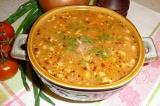 Готовое блюдо: суп харчо