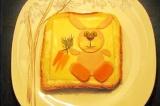 Готовое блюдо: бутерброд Зайчик