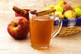 Готовое блюдо: пряный яблочный сидр
