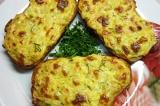Готовое блюдо: горячие творожные бутерброды