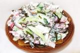 Готовое блюдо: салат из морской капусты
