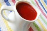 Готовое блюдо: малиновый соус