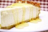 Готовое блюдо: йогуртовый чизкейк с бананом