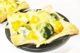 Готовое блюдо: пирожки с тыквой и брокколи