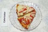 Готовое блюдо: пицца на сковороде