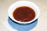 Готовое блюдо: соус из спаржевой фасоли