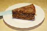 Готовое блюдо: вафельный торт Зебра