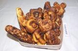 Готовое блюдо: печенье мишки-шишки
