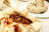 Готовое блюдо: мясо в армянском лаваше