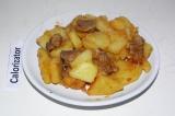 Готовое блюдо: тушеная картошка в мультиварке