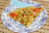 Готовое блюдо: пицца Овощная