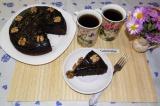 Готовое блюдо: шоколадный пирог в мультиварке