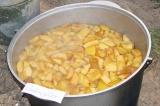Шаг 2. Залить водой и поставить на огонь. После закипания варить 15-20 минут.