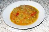 Готовое блюдо: икра из зелёных помидоров