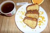 Готовое блюдо: апельсиновый кекс в глазури