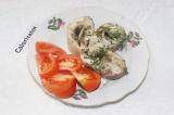 Готовое блюдо: щука в фольге