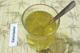 Шаг 1. Желатин залить стаканом горячей кипяченой воды, перемешать и оставить 15