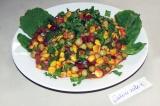 Готовое блюдо: салат Бобовая фантазия