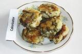 Готовое блюдо: рисовые котлеты с морской капустой