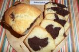 Готовое блюдо: кекс с какао