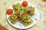 Готовое блюдо: потапцы с помидорами