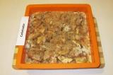 Готовое блюдо: яблочный пирог с корицей