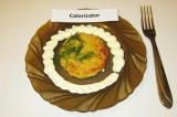 Готовое блюдо: котлеты из гороха с сыром