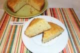 Готовое блюдо: апельсиново-сметанный пирог