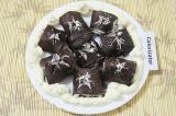 Готовое блюдо: шоколадные блины Черные розы