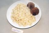 Готовое блюдо: соевые котлетки