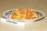Готовое блюдо: солянка с сосисками