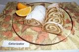 Готовое блюдо: рулет с ореховой начинкой