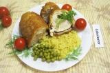 Готовое блюдо: котлеты по-киевски